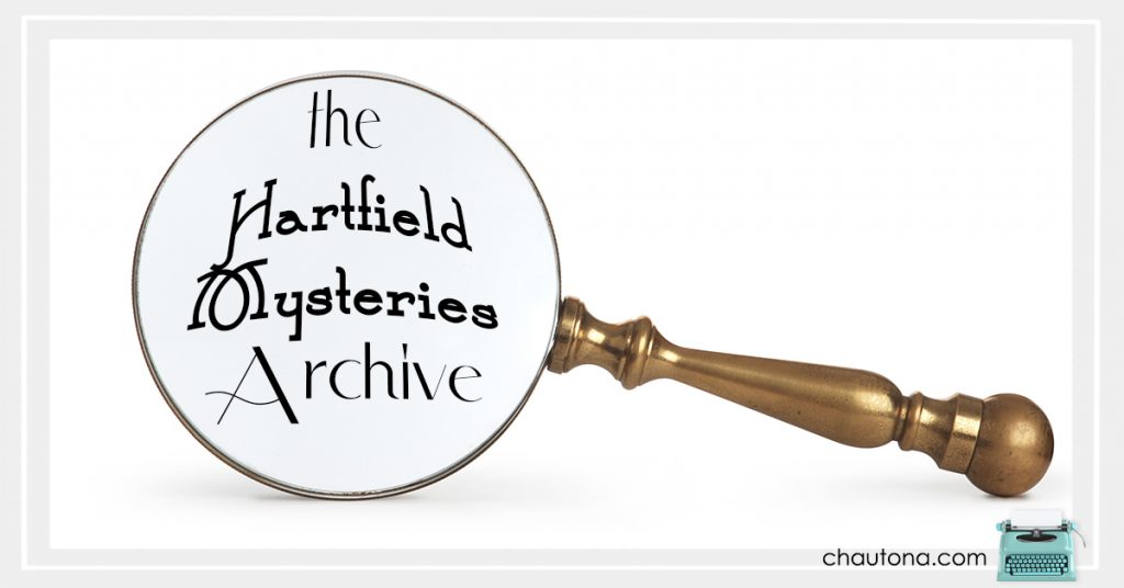 The Hartfield Mysteries Blog Archive