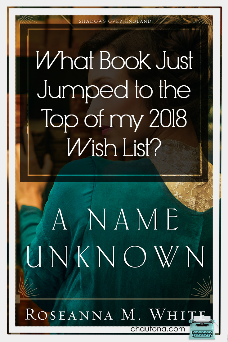 What Book Just Jumped to the Top of my 2018 Wish List?