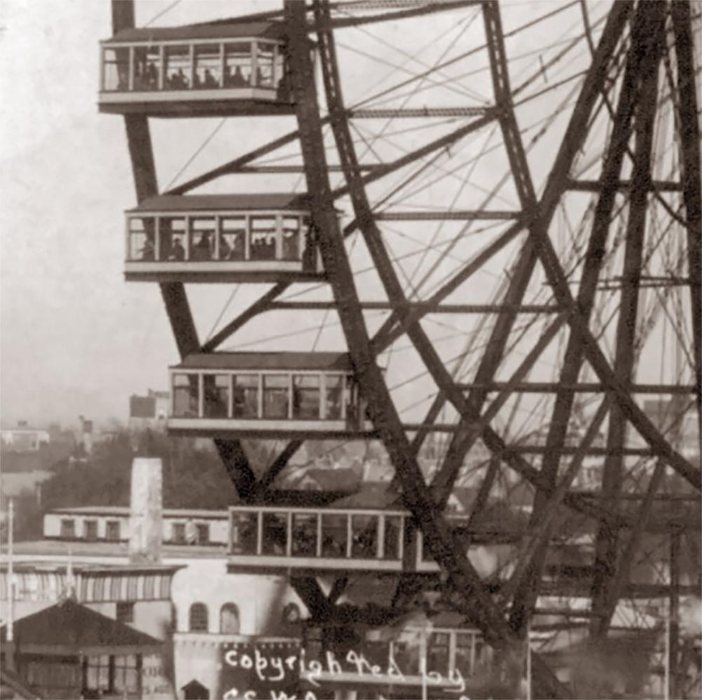 Ferris Wheel car 1893
