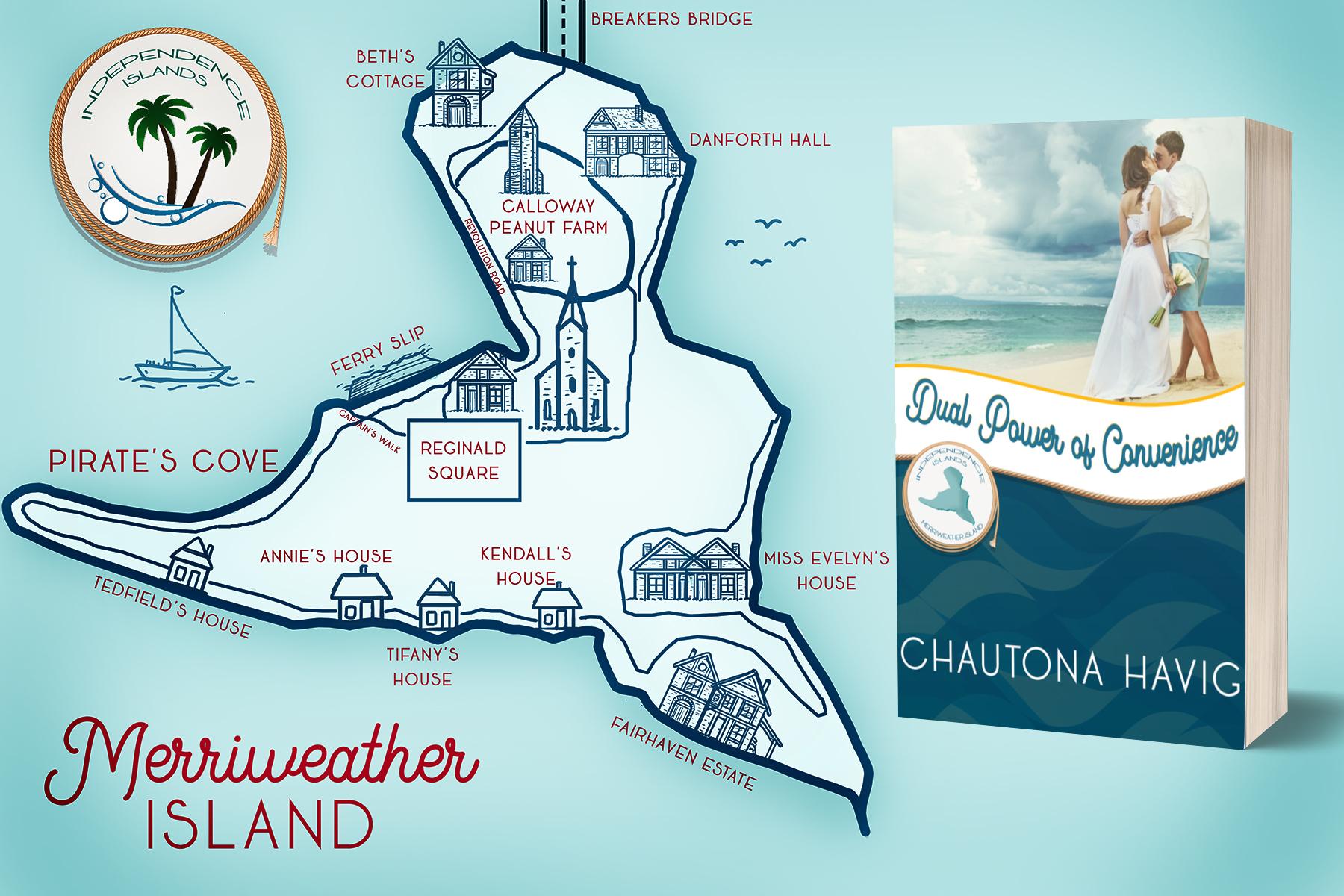 Independence Islands postcard