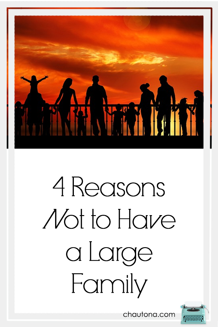 4 reasons not to have a large family