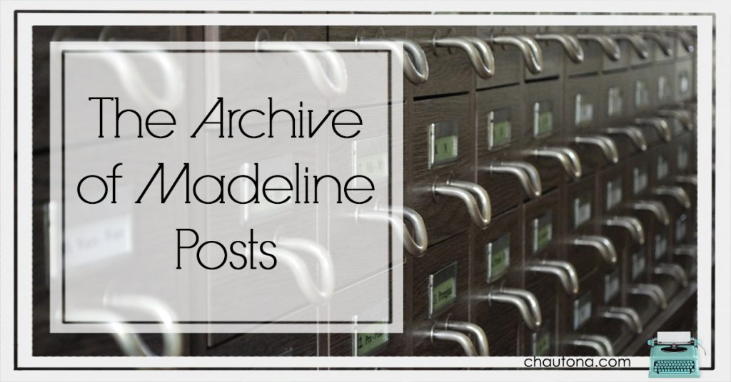 Madeline Posts Archive