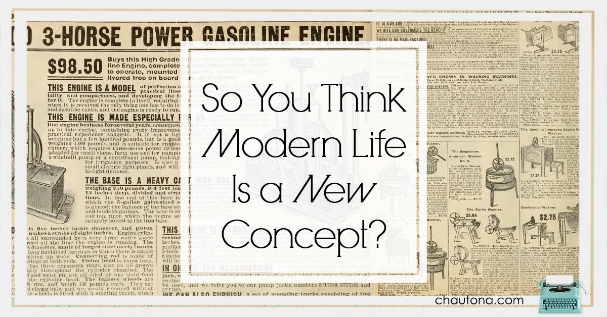 Modernity is Relativee