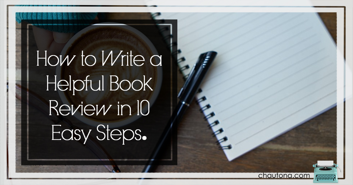 how to write a fiction book review