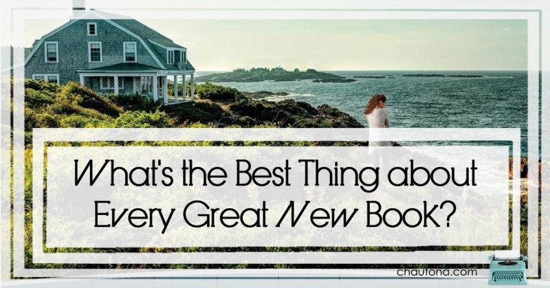 What's the Best Thing about Every Great New Book?