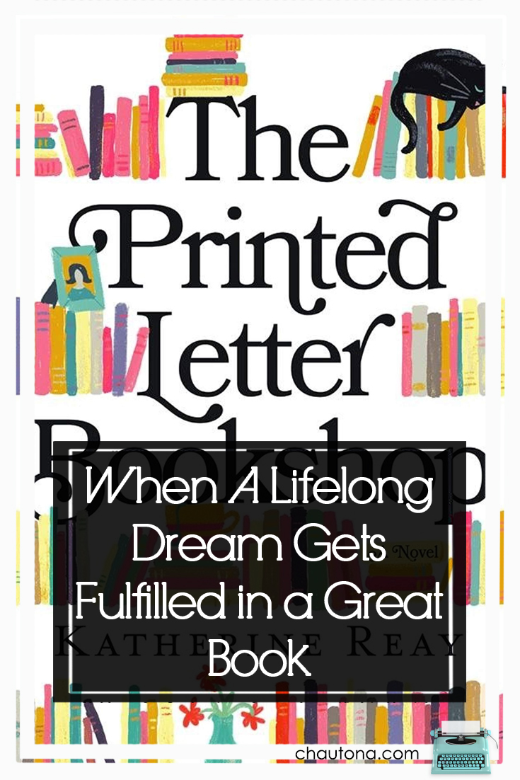 "Why did I have o decide to read ""The Printed Letter Bookshop,"" anyway? Now I just want to move to a cool town and open a bookshop--because books!!! via @chautonahavig"