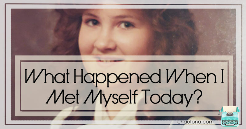 What happened when I met myself today
