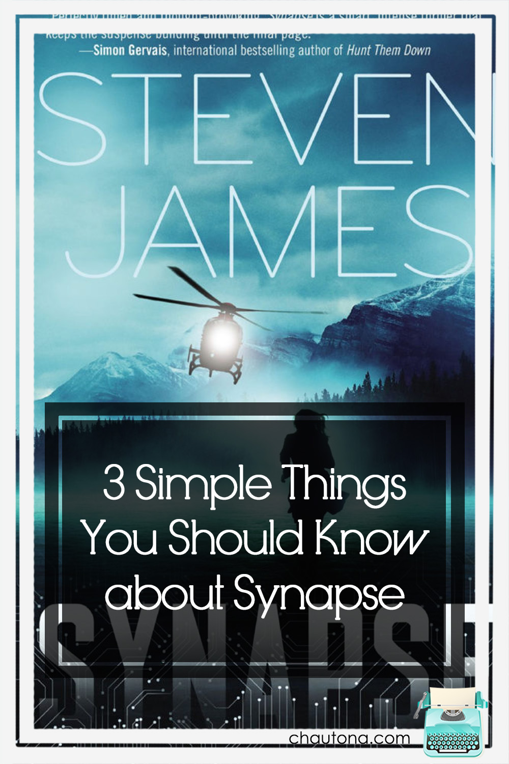 Sometimes the less you tell about a book, the better it is for everyone. Synapse is one of those. The minute I try to describe it, I give too much info! via @chautonahavig