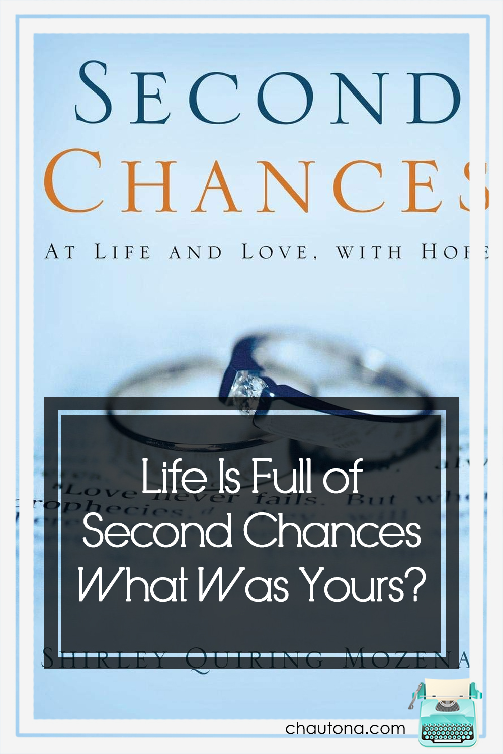 Sometimes, second chances change the whole course of your life, and sometimes they don't last long enough to. Sometimes... sometimes it's both. via @chautonahavig