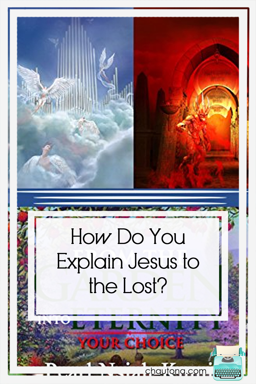 What does From the Garden into Eternity offer to show the seeking Who Jesus really is? Will it provide a solid overview of the Scriptures? Possibly. via @chautonahavig