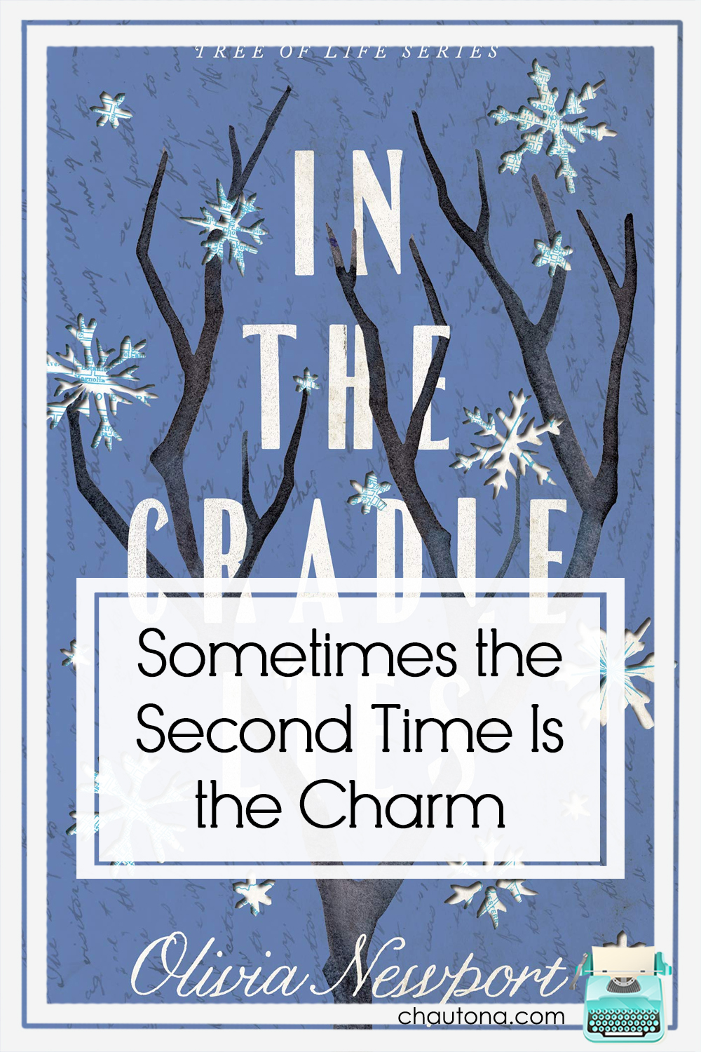In the Cradle Lies offers geneology, mystery, and a blend of historical and contemporary fiction in one, impossible-to-put-down book. Can't wait for the next. via @chautonahavig