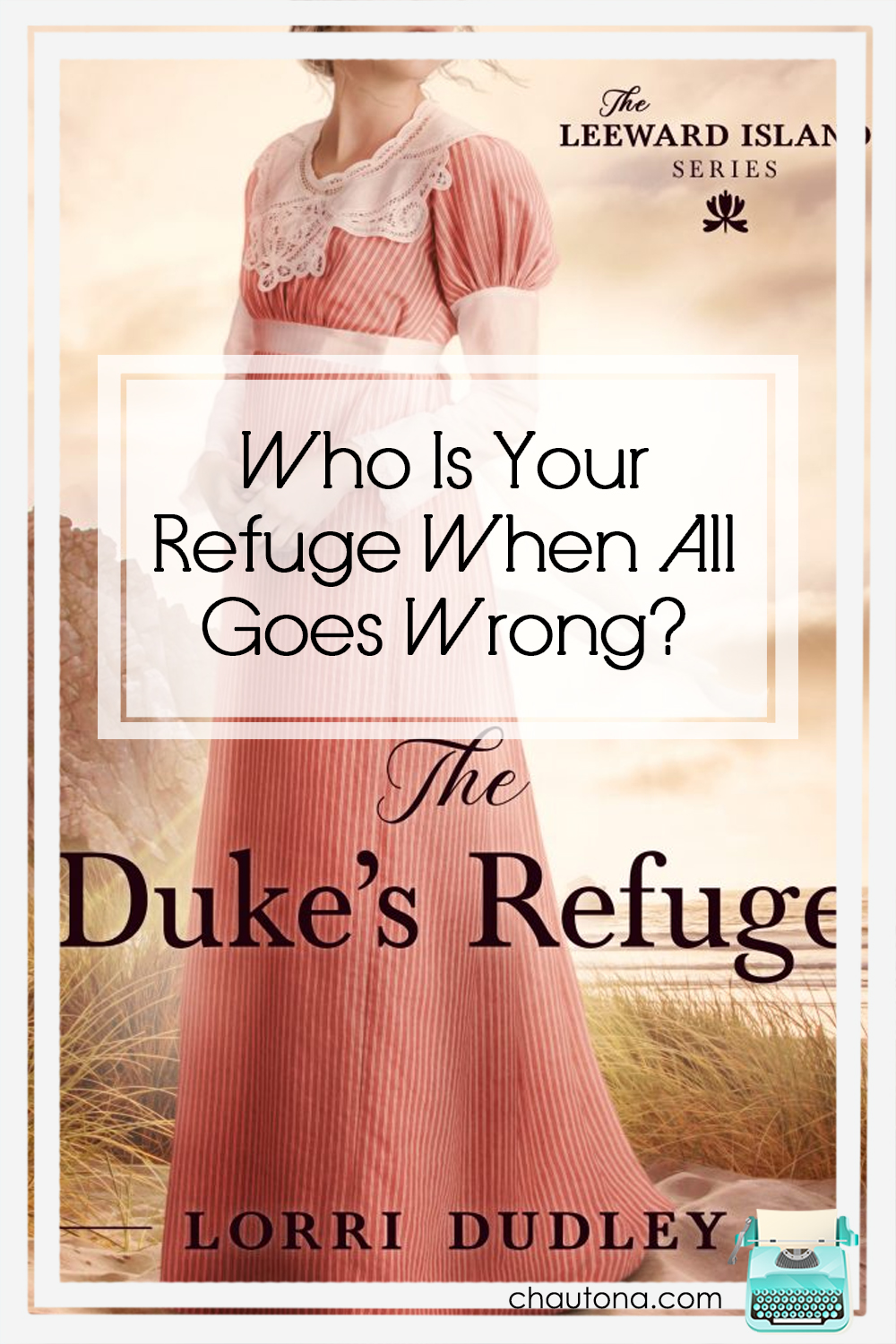 The Duke's Refuge offers more than a refuge from cliched Regency novels--it points to the True Refuge and makes you think about why we so often run from Him. via @chautonahavig