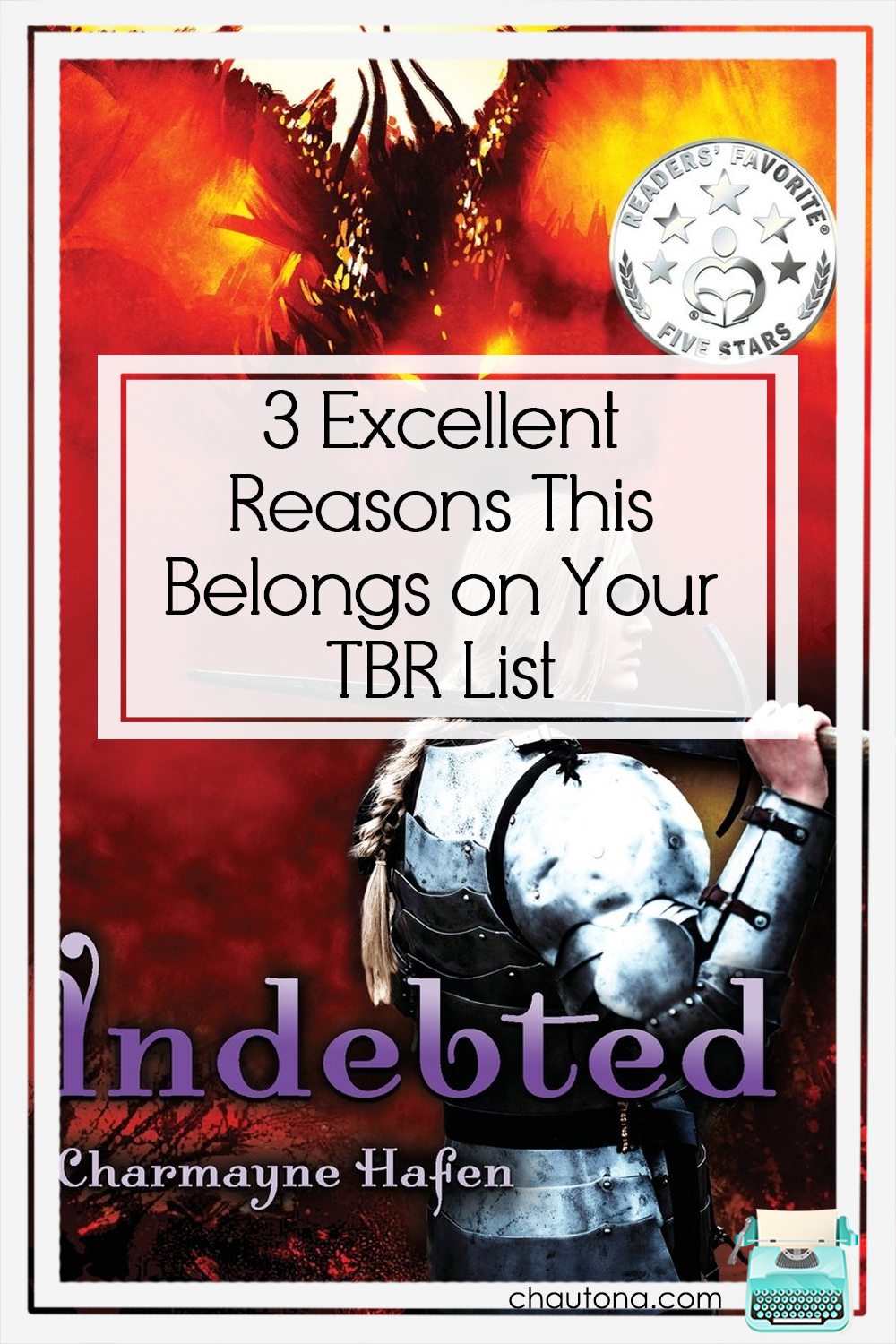 In this review of Indebted, I look at what I thought of it and why it might be a great fit for your to be read book list. Hint: not just because of dragons. via @chautonahavig