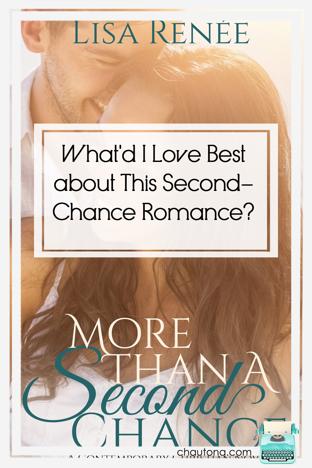 I'm not often a straight-up romance fan, but this second-chance romance caught my attention and kept me reading and without overdosing me with sap! via @chautonahavig