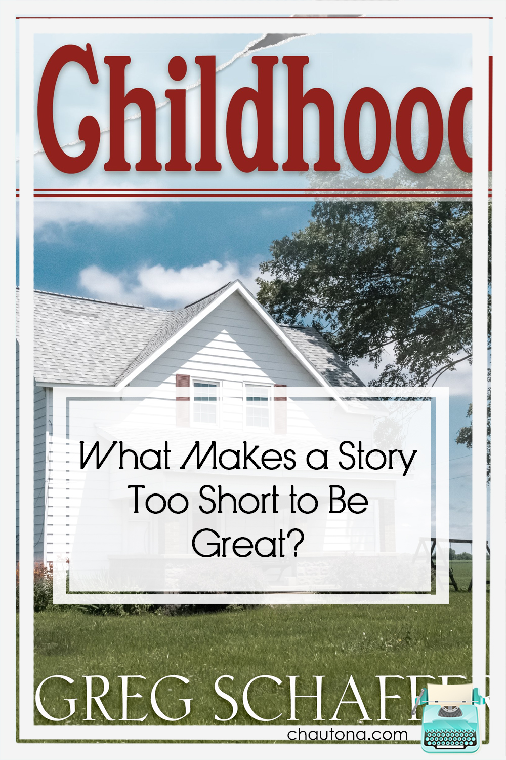 Short fiction can be compelling and sometimes it just misses the mark. So if I didn't love Childhood, why am I waiting for the next? via @chautonahavig