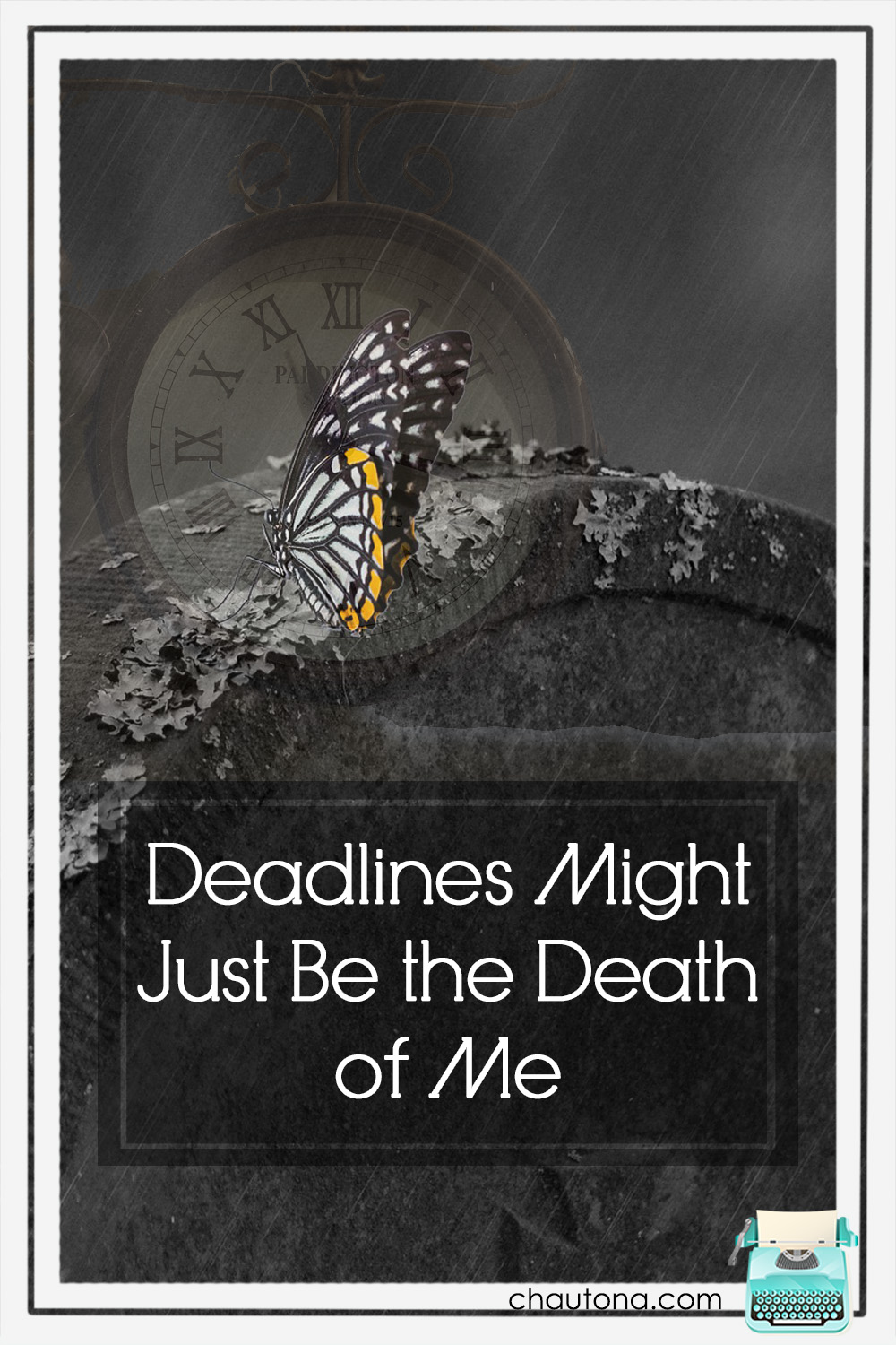 Deadlines are many authors' nemeses--okay, probably most if not all--but deadlines also affect more than just the author. Here's what's up with mine... via @chautonahavig