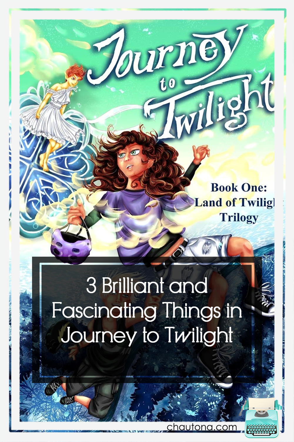 Journey to Twilight--a middle-grade book that both surprised and delighted me. See what I loved and didn't about it in this review! via @chautonahavig