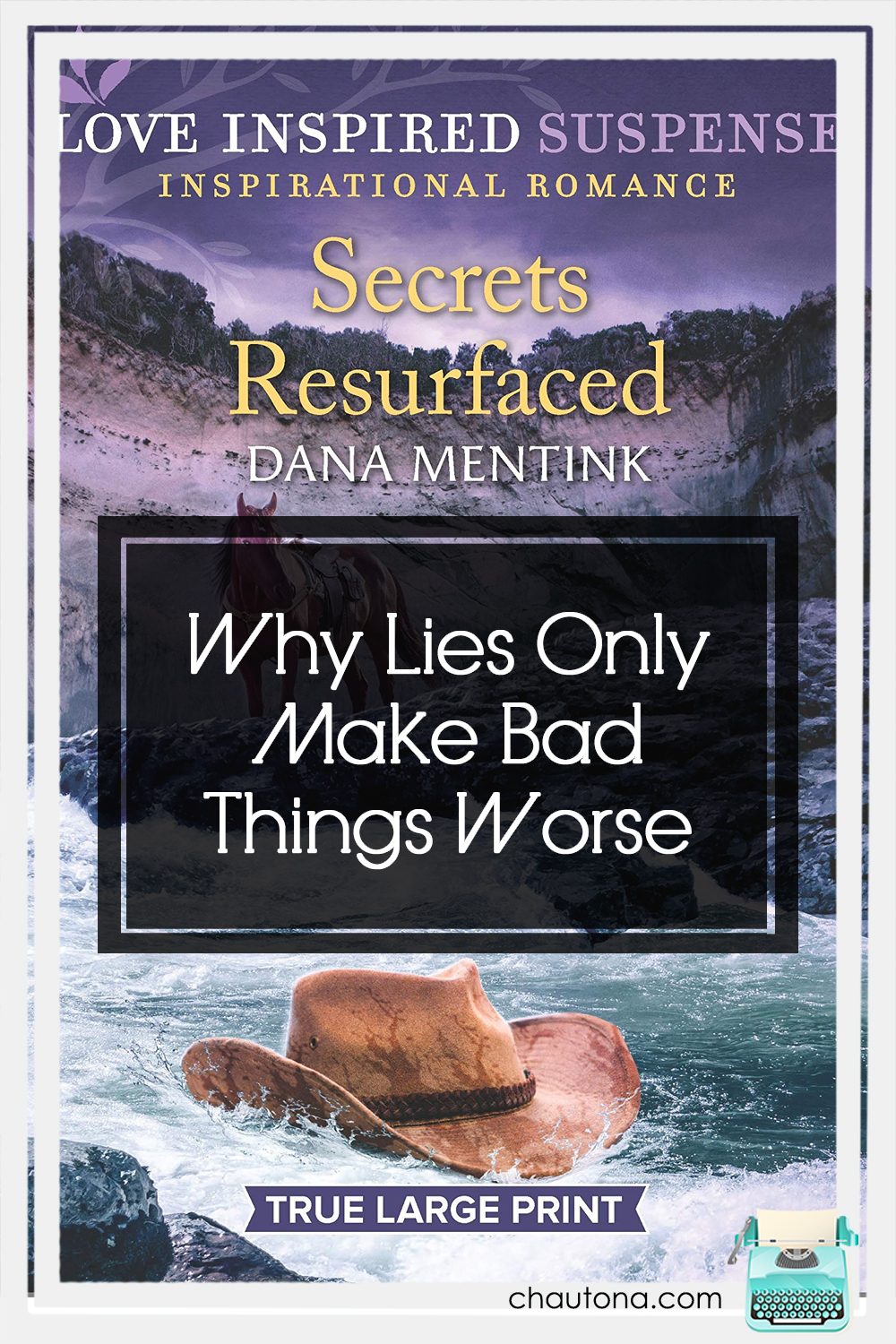 "What made me read Secrets Resurfaced? Well, a friend recommended it, the synopsis ""got"" me, and then I just wanted to try the author again. via @chautonahavig"