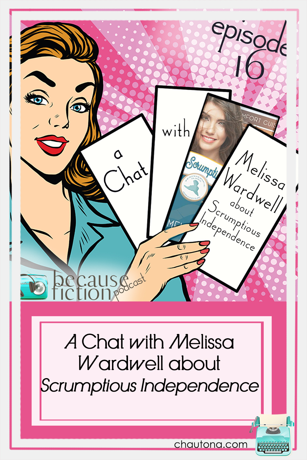 How did Melissa Wardwell start writing? What made her join the Independence Island Series? What can you expect from her upcoming novel? Find out today! via @chautonahavig