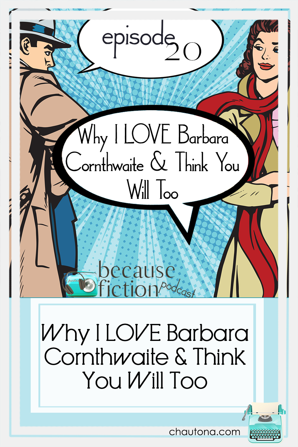 I first fell in love with Barbara Cornthwaite's historical and Austen-inspired books, but now she's becoming one of my favorite cozy mystery authors! via @chautonahavig
