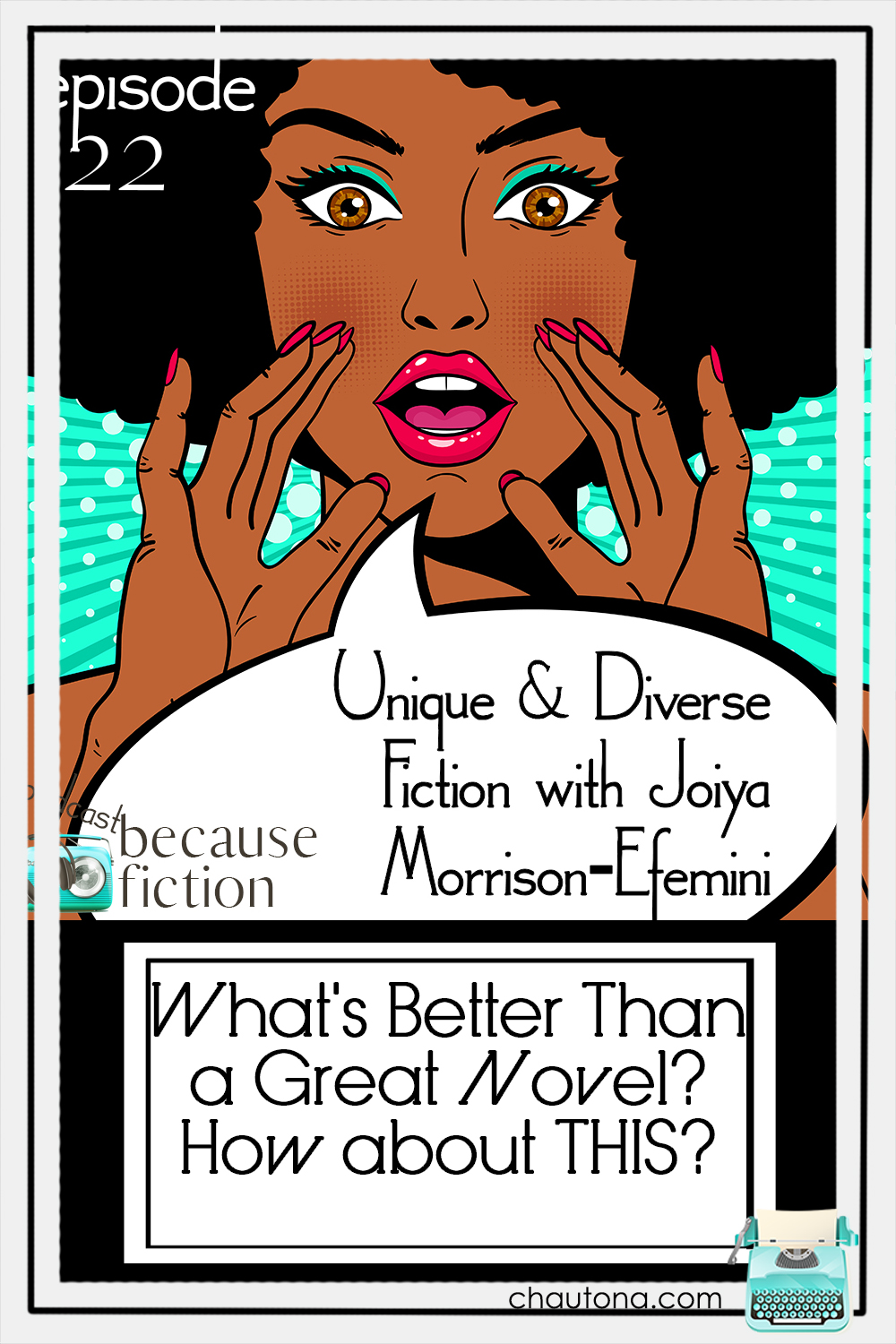 Joiya Morrison-Efemini and I talk about writing dreams, styles, and habits, and also diverse fiction, recommended books, and her new release, Petrified Flowers via @chautonahavig