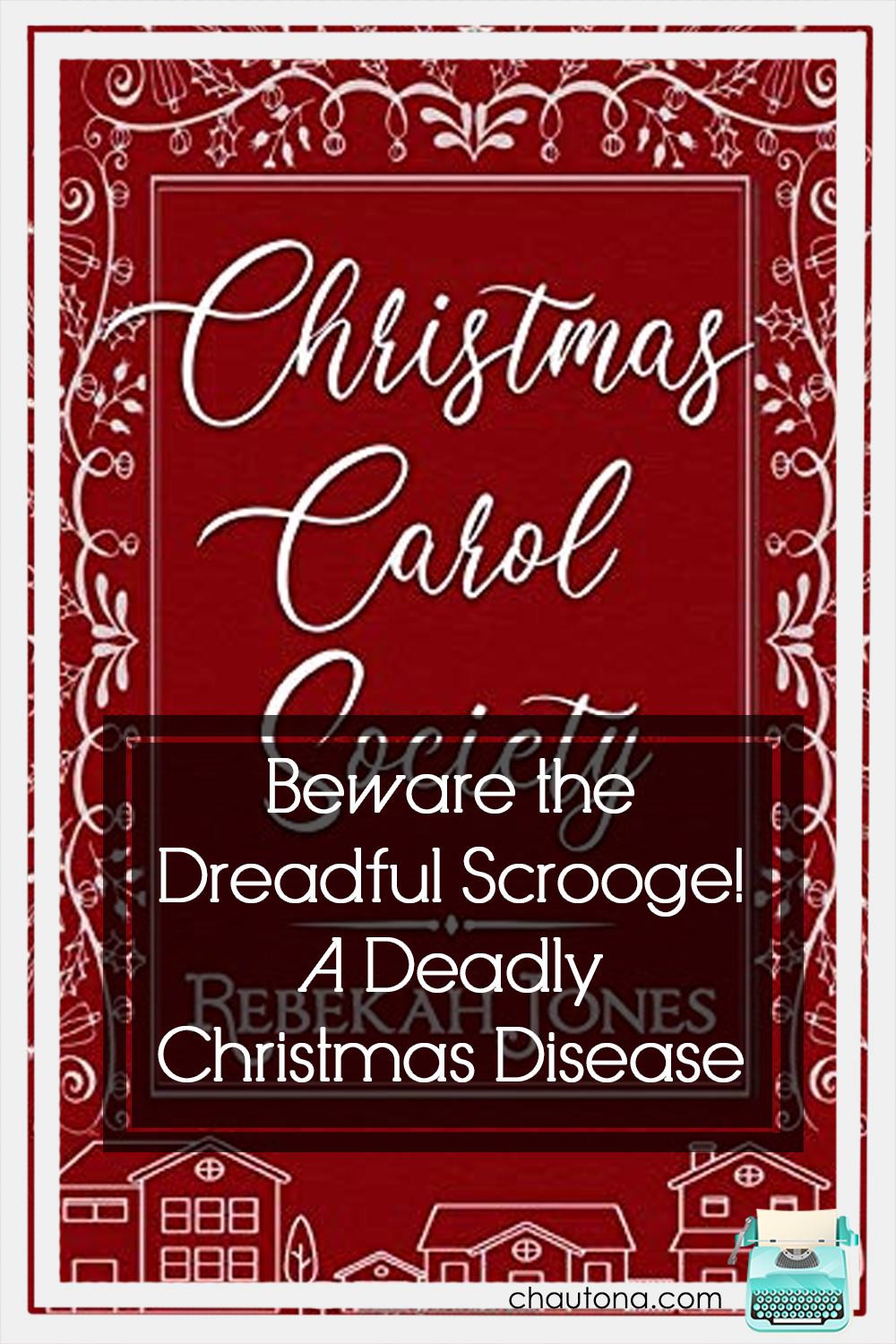 If you're anxious to get ready for Christmas, I recommend Rebekah Jones' Christmas Carol Society. Dickens feel, Scrooge, & friendship. Bliss. via @chautonahavig