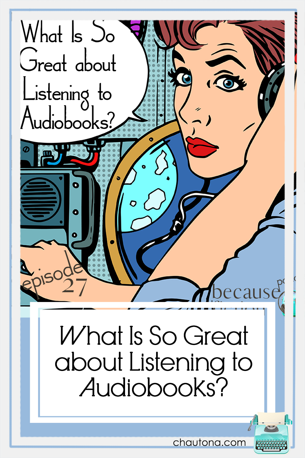 Audiobooks are both the fastest-growing sector of the book industry as well as one of the most polarizing among readers. Why? via @chautonahavig