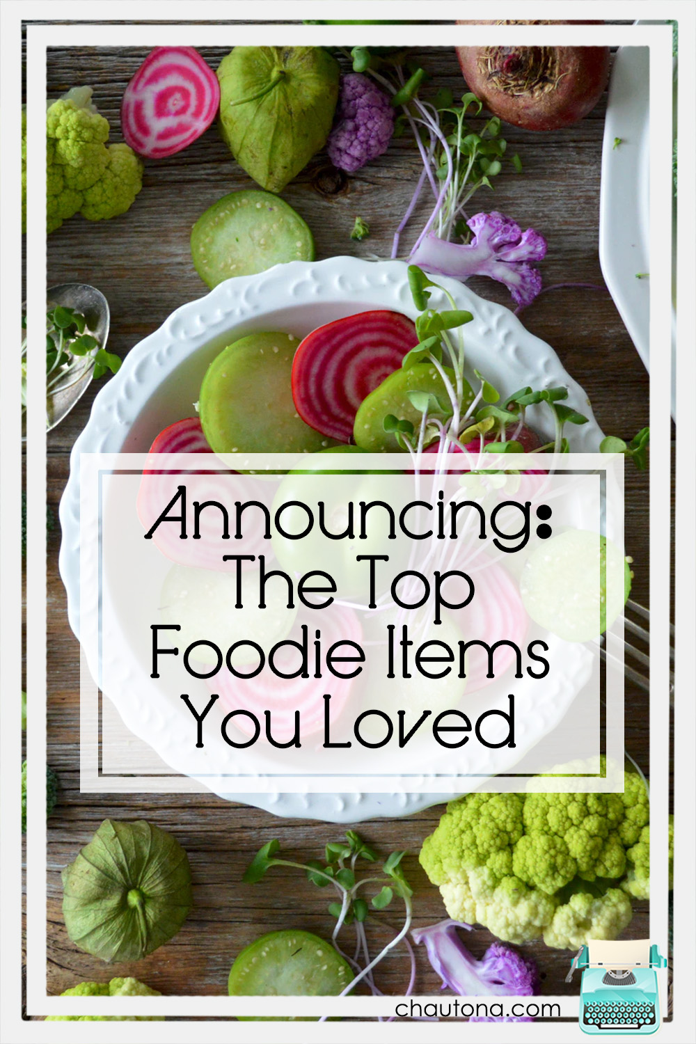 The foodie contest is over and the winners are in. They are not me. LOL Still, check in to see who won, both the authors and the readers! Congrats to all. via @chautonahavig