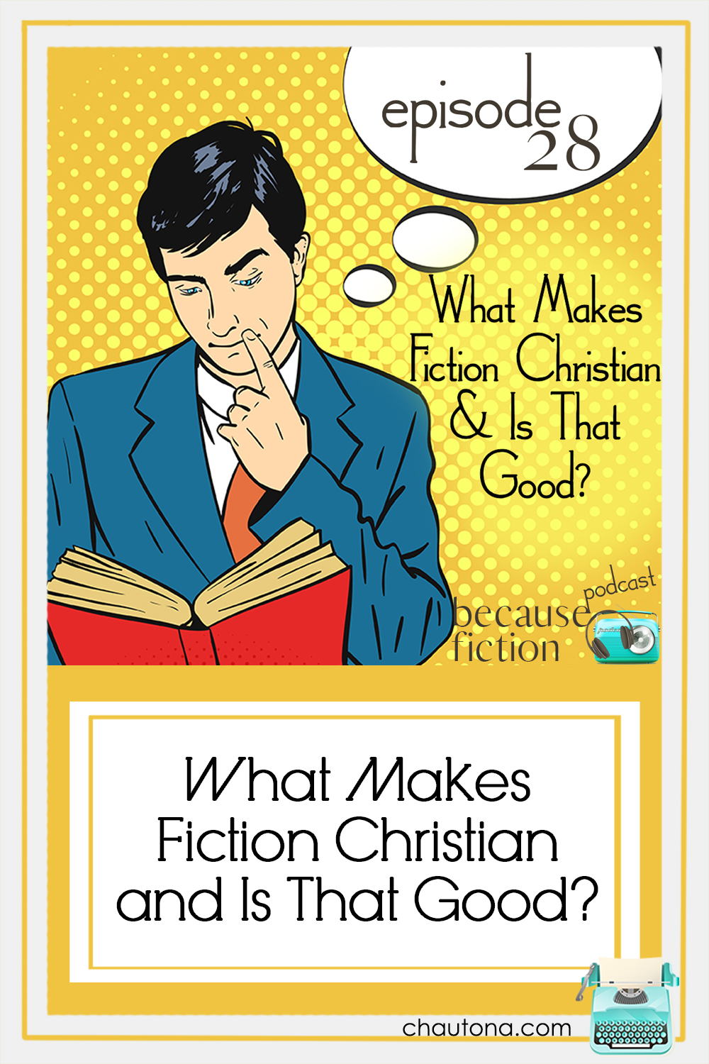 David Rawlings and I have a lovely conversation about Christian fiction, what makes good fiction, good writing, and what makes fiction, Christian. via @chautonahavig