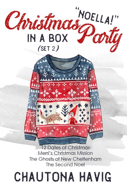 """Christmas Party in a Box """"Noellas"""" (Set 2)"""