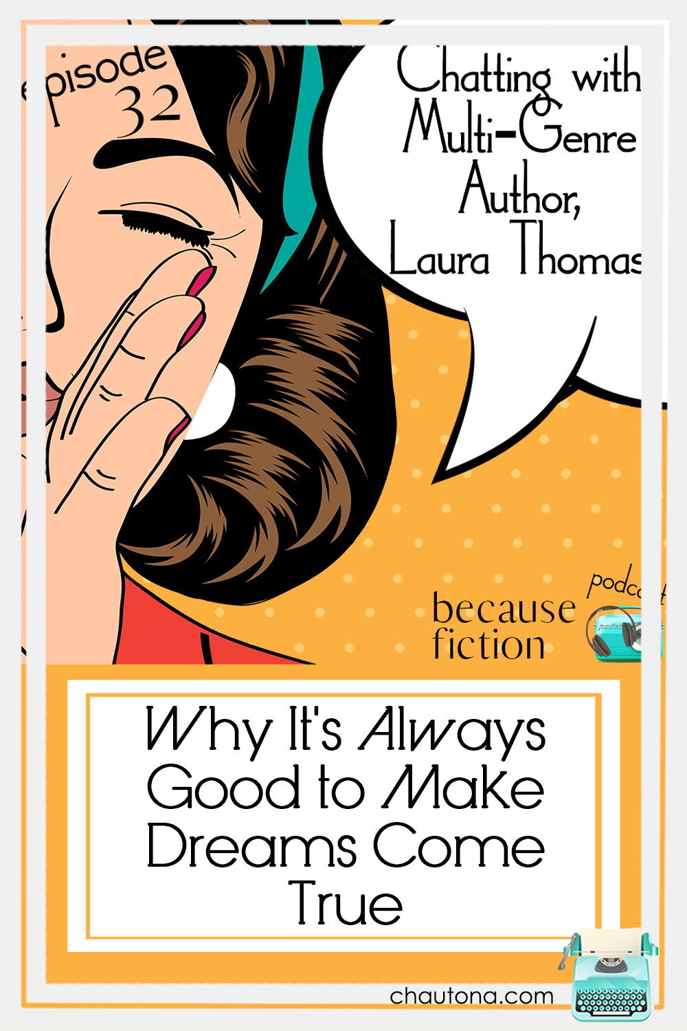 """Sometimes, authors need variety to write the best they can, and I always love it when I find another author who """"gets me."""" Laura Thomas certainly does. via @chautonahavig"""