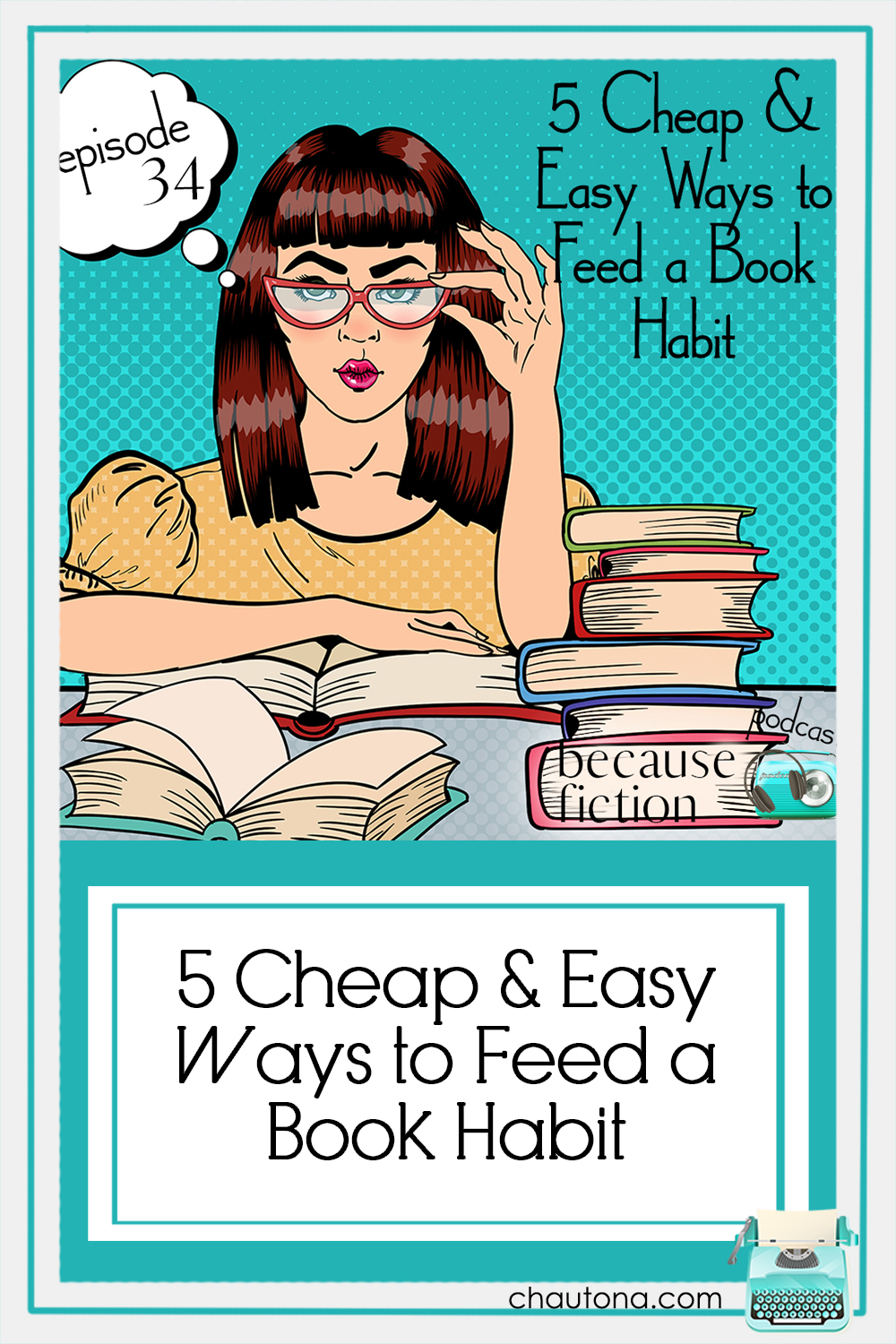 Paperback books, as lovely as they are, can be really expensive, so how can we fill our shelves without busting the budget? I've got five for you! via @chautonahavig