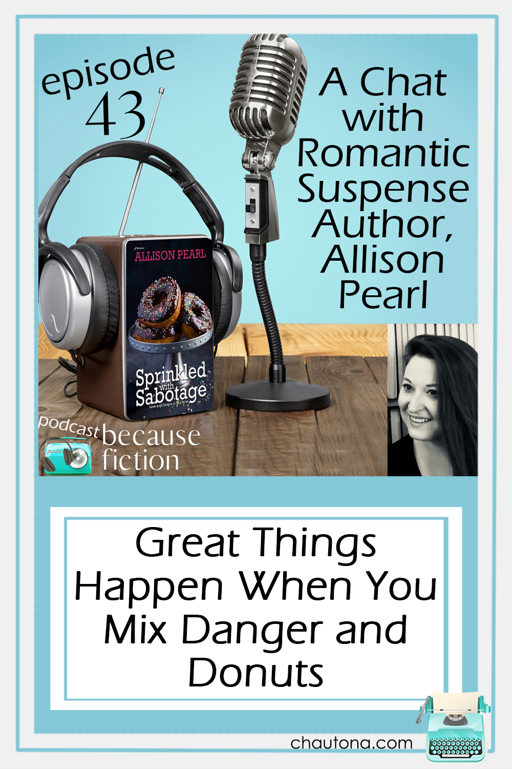 Suspense is a favorite genre, so chatting about it with Allison Pearl was delightful although it did mean I had to stop reading her book. via @chautonahavig