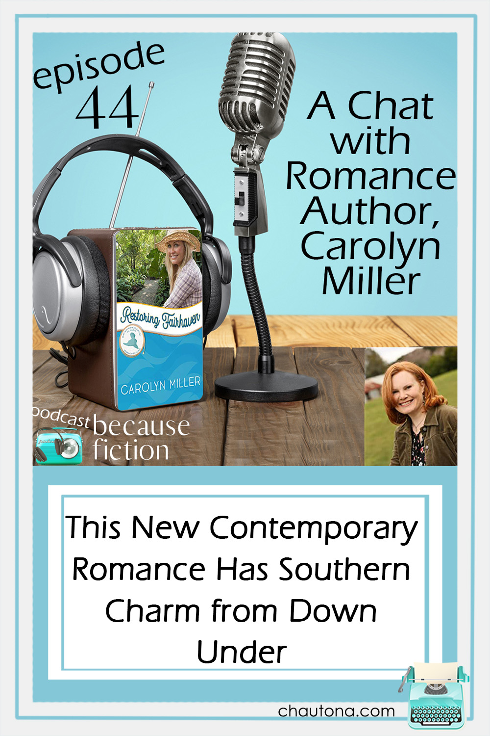 This week, I chatted with author, Carolyn Miller about her Regency novels, her Independence Islands books, and her upcoming contemporary romance series! via @chautonahavig