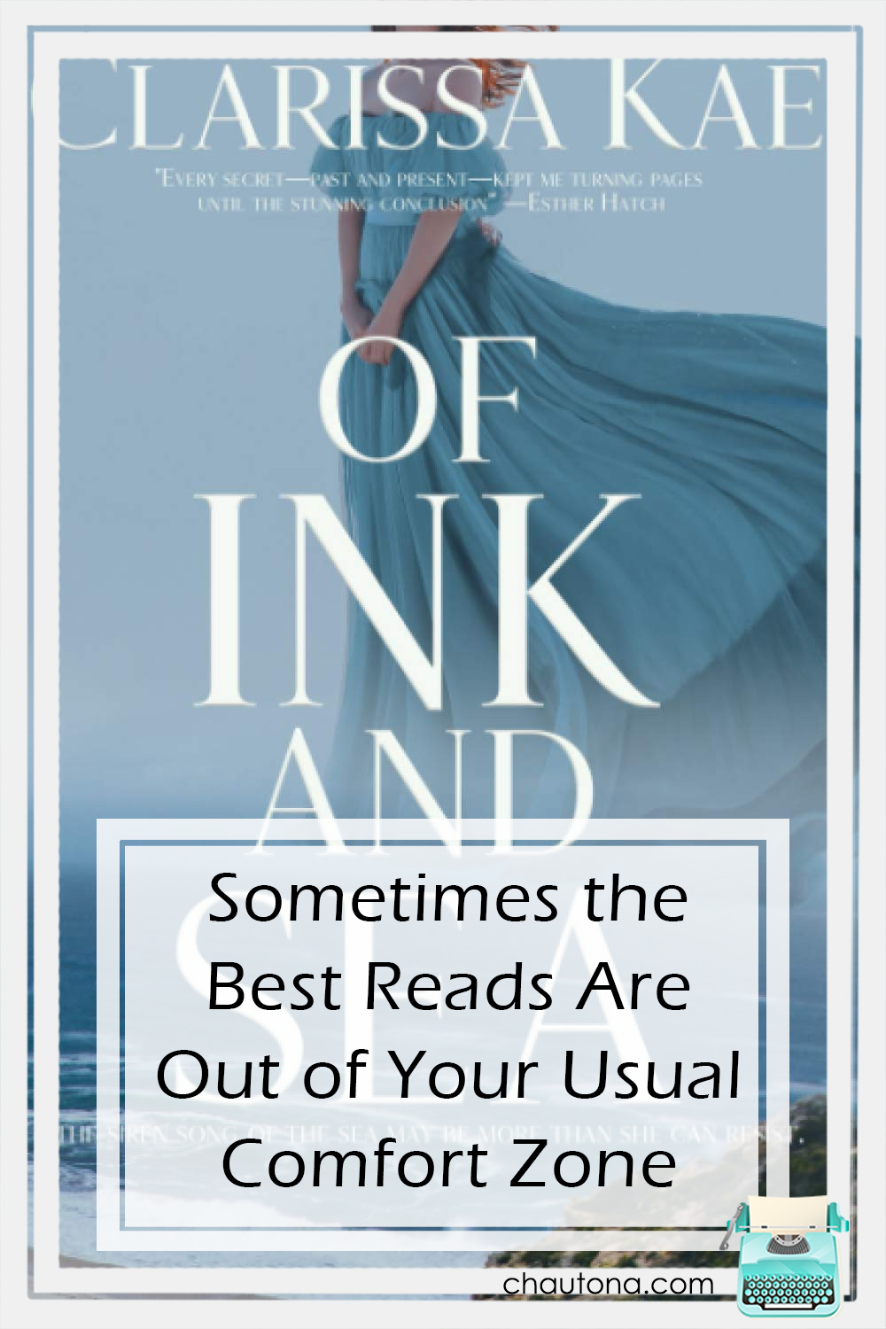 Of Ink and Sea is nothing what I expected--and everything. Only one thing could have made it any better, but I'll just enjoy it as is. via @chautonahavig