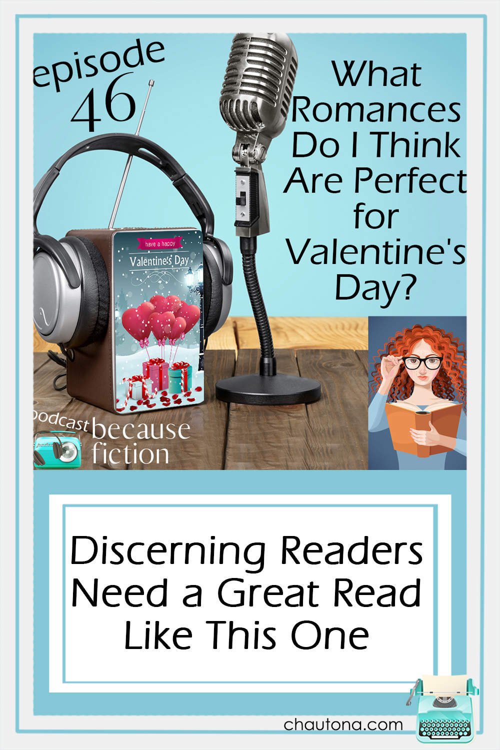 Valentine's Day is the perfect time to curl up with a nice romantic book and escape into a world of happily-ever-afters. But which one?? via @chautonahavig