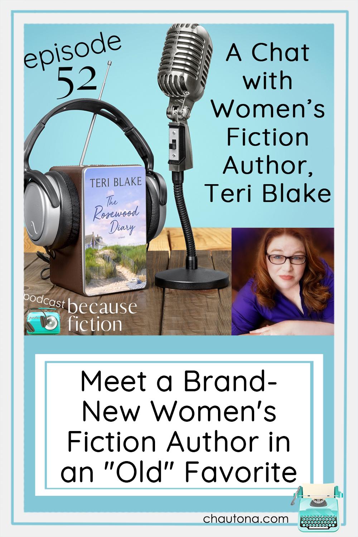 Teri Blake has just releasedThe Rosewood Diary, a wonderful story of miscommunication, misunderstanding, old hurts, and restoration. via @chautonahavig