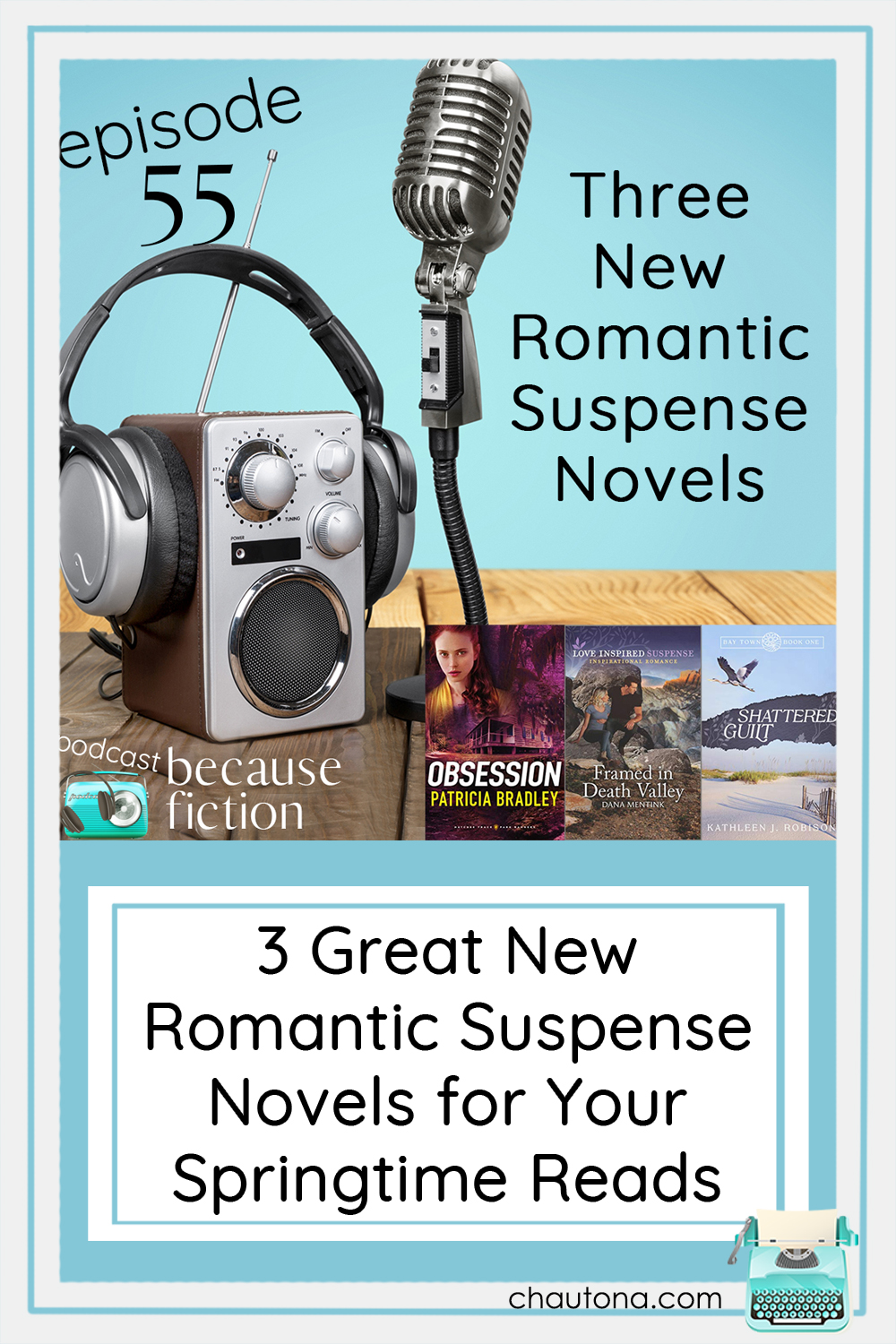 Patricia Bradley, Dana Mentink, and debut author, Kathleen J. Robison each have a fascinating romantic suspense novel for us to hear about! via @chautonahavig