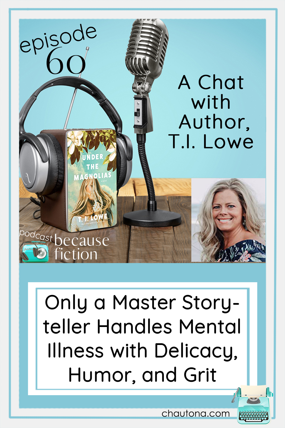 Set in 1980, author T.I. Lowe tackles the tough topic of mental illness with all the Southern charm you'd expect and a dash of humor. via @chautonahavig