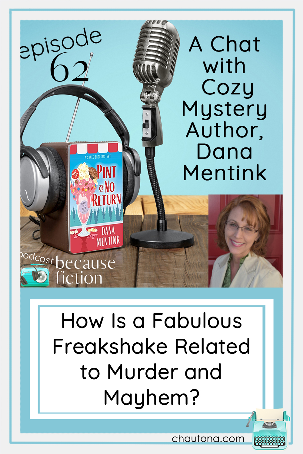If you love a good cozy mystery, or if you love a great ice cream shake, and especially if you like both, this is the new series for you! via @chautonahavig