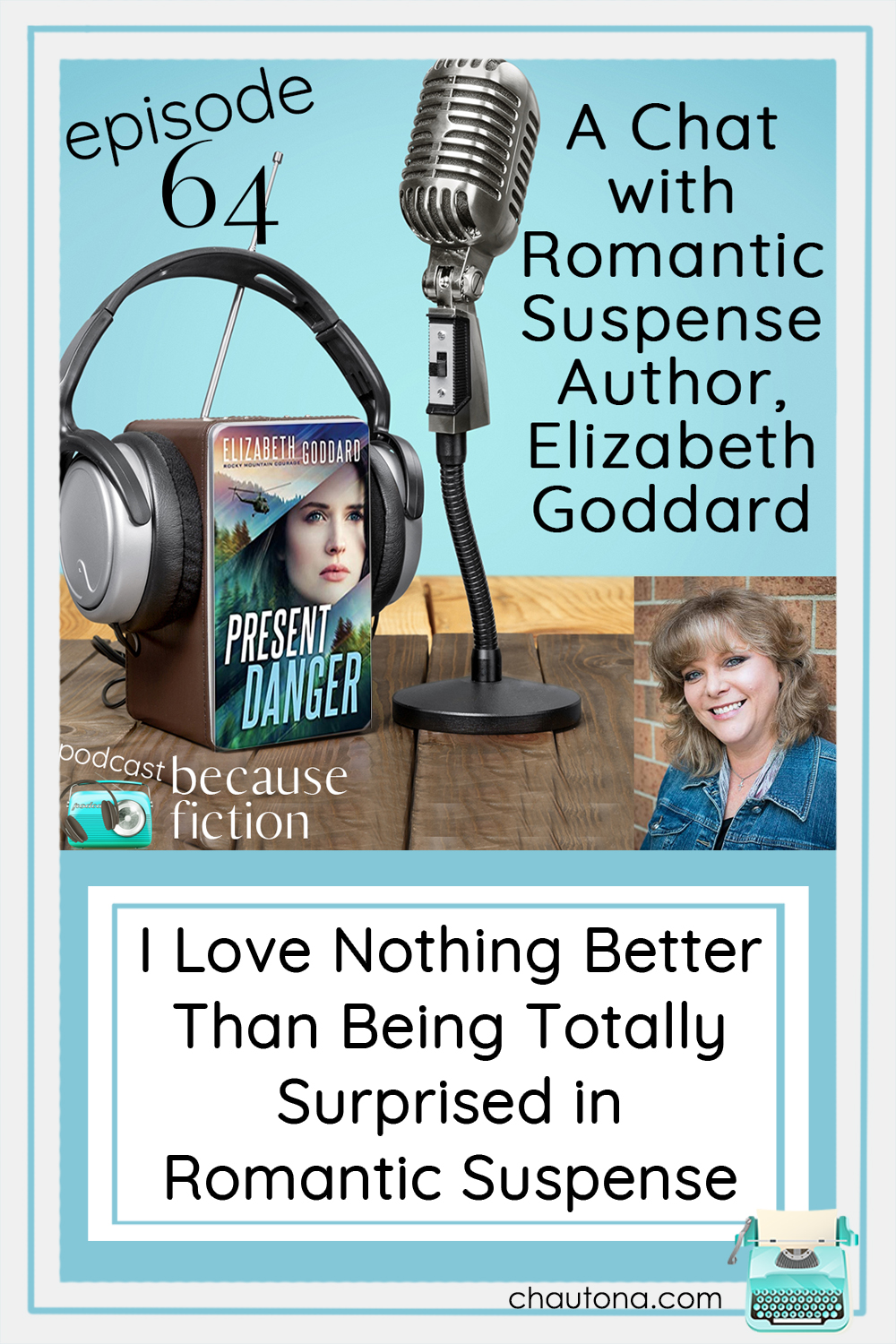 """Elizabeth Goddard is one of my newest """"favorite"""" authors. How did I not know the genius that is this woman's writing? I love Present Danger! via @chautonahavig"""