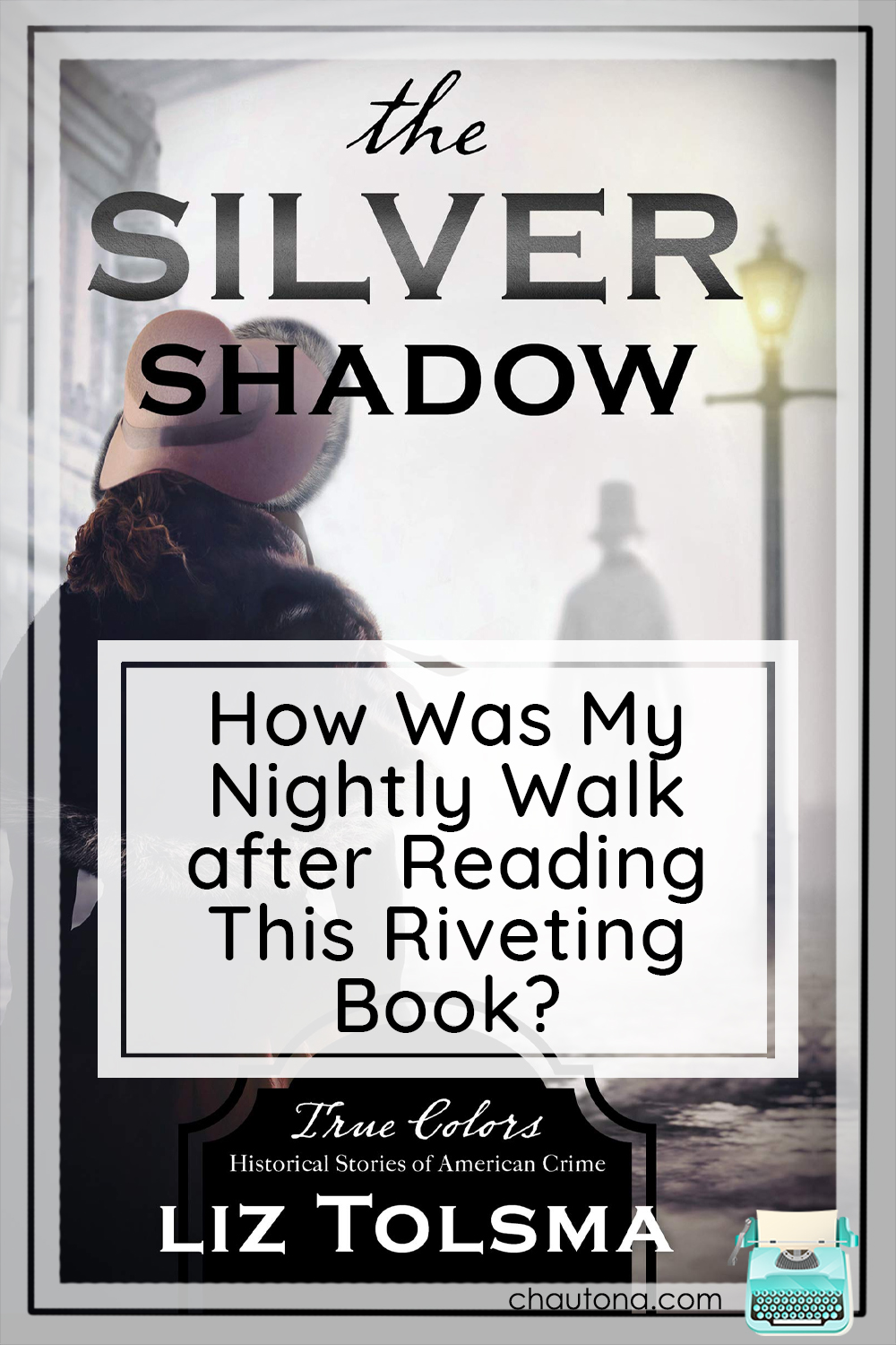 The Silver Shadow is Liz Tolsma's best book by far. The more I think about it, the more I love every nuanced layer and detail--even the mush. via @chautonahavig