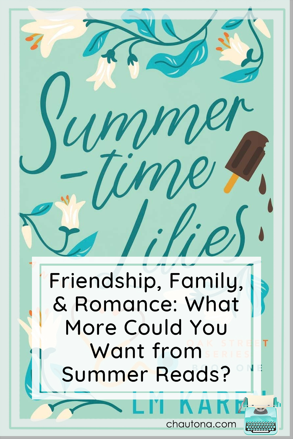 Summertime Lilies offers a sweet, slow, gentle romance to keep those lazy, hazy, days of summer less crazy and a whole lot sweeter. via @chautonahavig