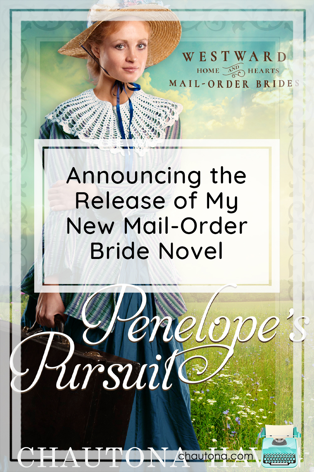 I've been planning this mail-order bride novel for a very long time, and it,s finally here! Time to celebrate and ooh! A surprise reveal! via @chautonahavig