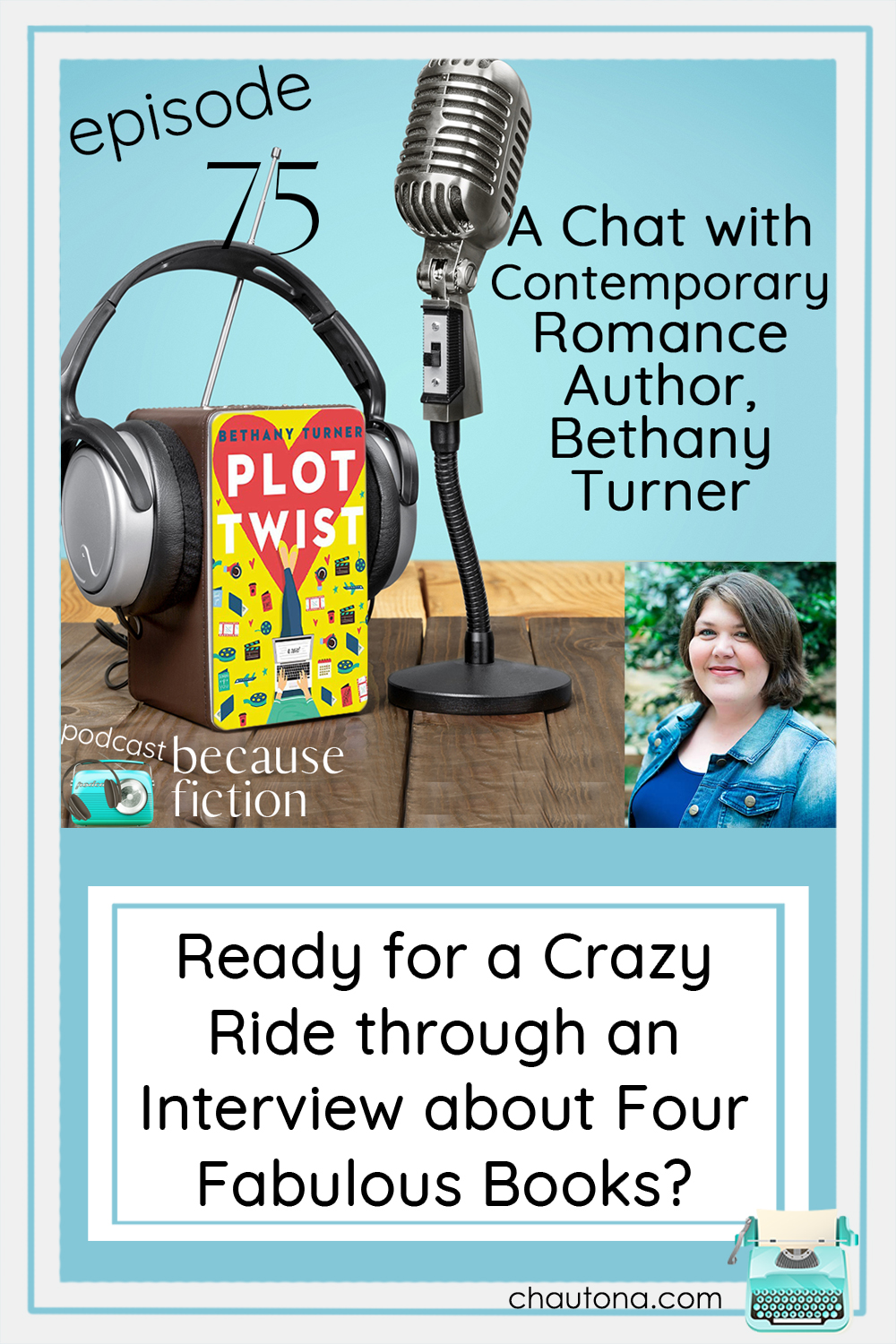 Charming and too funny for words, Bethany Turner writes rom-com you can't put down and with depth beneath it that reflects the author! via @chautonahavig