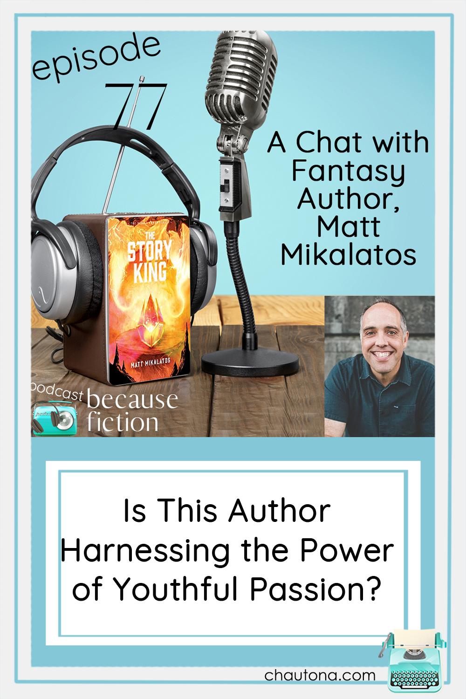 I enjoyed this chat with YA Fantasy author, Matt Mikalatos. His heart for teens, his joy in fantasy, and his love of the Lord shine through. via @chautonahavig