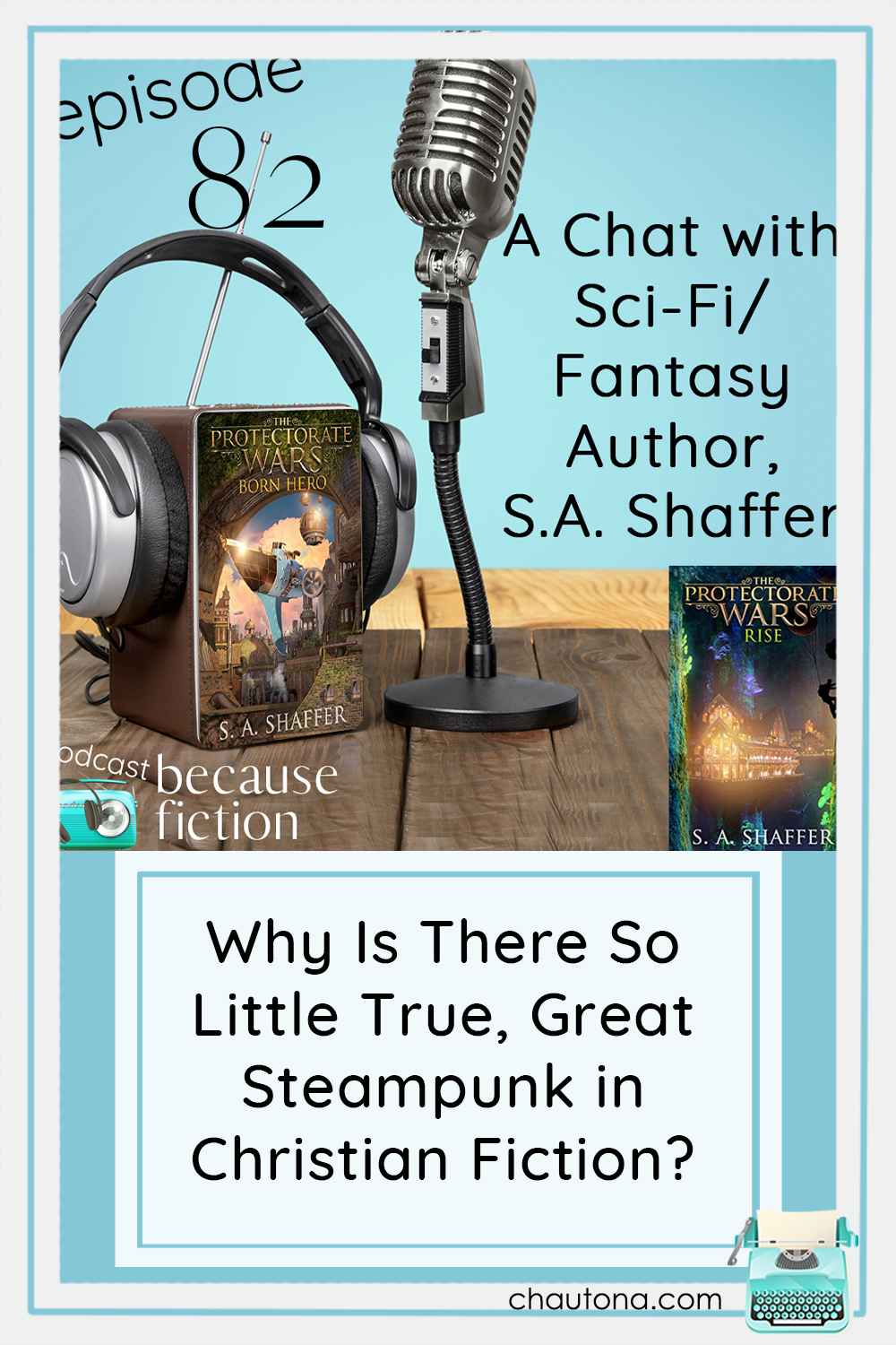 Steampunk as a genre has been inundated by sensual romance, but what about the brilliance of guys like Jules Verne and now S.A. Shaffer via @chautonahavig