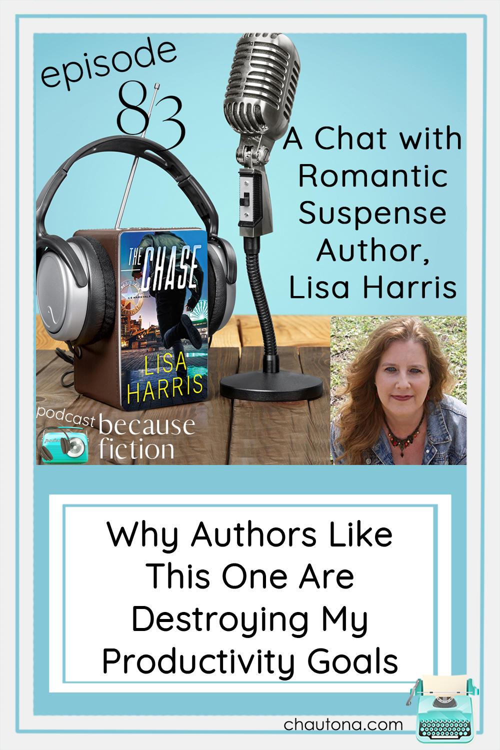 Lisa Harris will keep you on the edge of your seat in her U.S. Marshals series and her latest book, The Chase. Find out why you need it now! via @chautonahavig