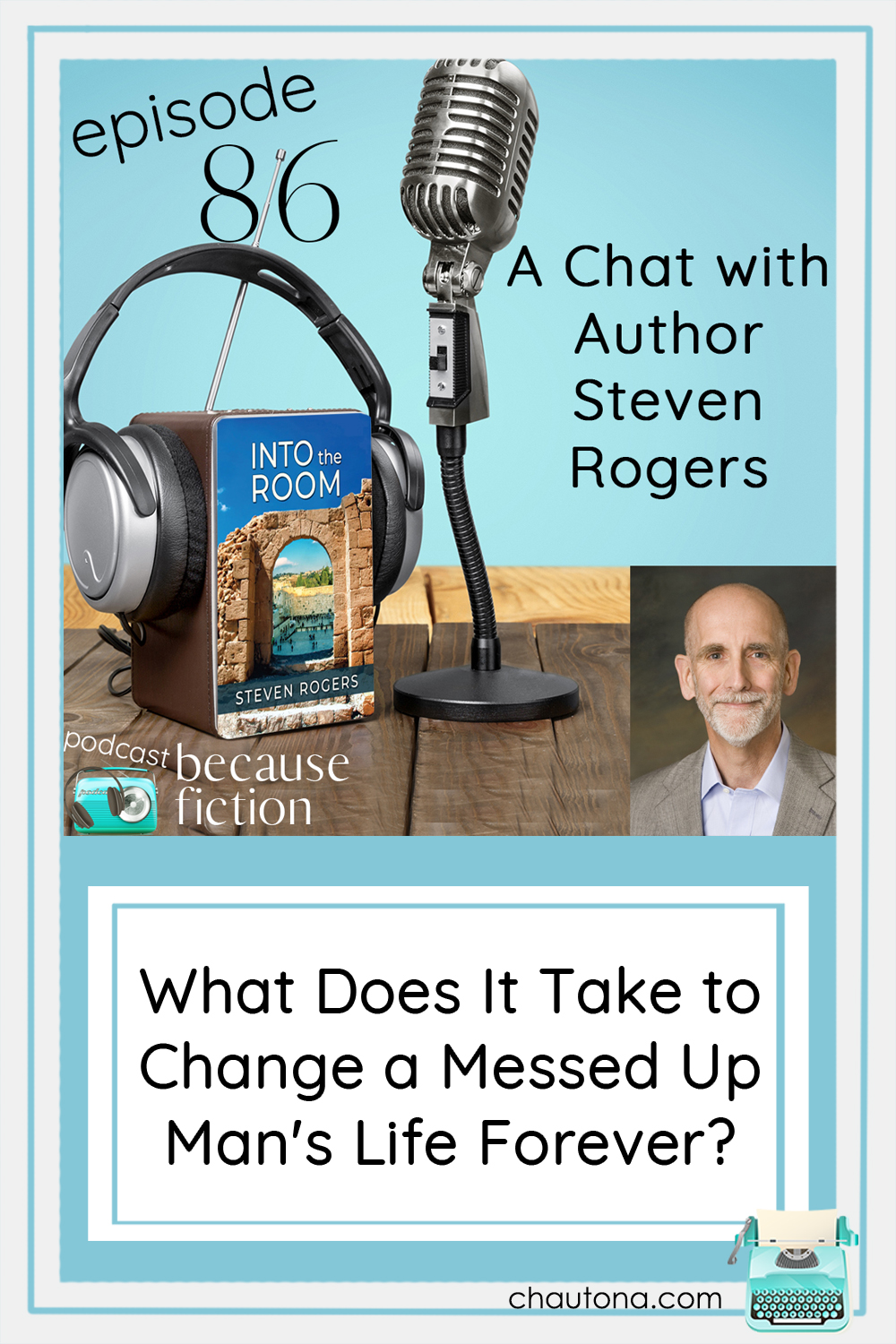 In Into the Room by Steven Rogers, one man takes an unintentional journey to faith while running from responsibility. via @chautonahavig