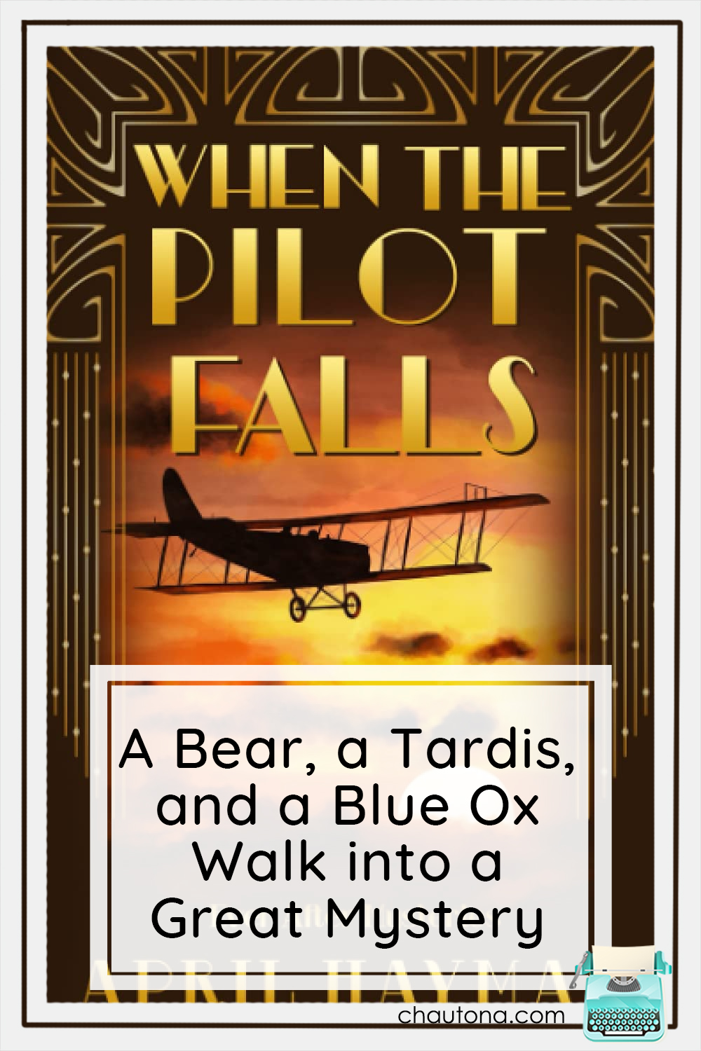 The next Ever After Mystery has released! When the Pilot Falls is a harrowing tale of stunt pilots in the infancy of such shenanigains! via @chautonahavig